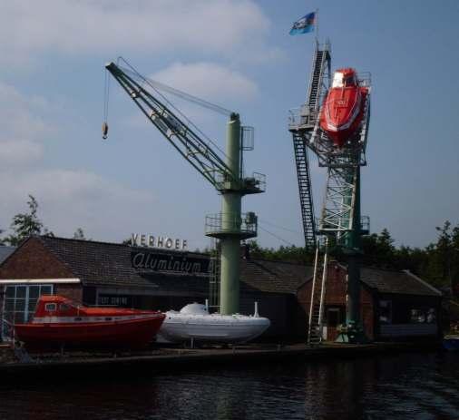 Testcenter für Rettungsboote
