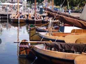 Botterboote in Elburg