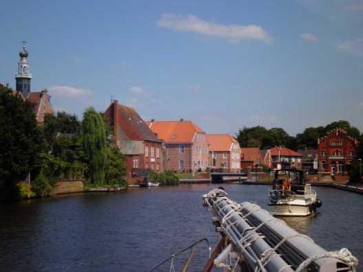 Fahrt durch Emden