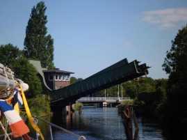 Eisenbahnbrücke Mariensiel