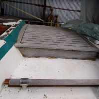 die Lukengarage - noch mehr Holz auf Stahl