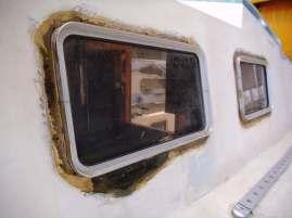 Fenster Backbord