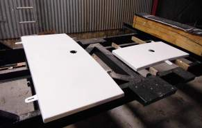 Lukendeckel aus Aluminium