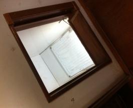 Kühlbox mit beschichtetem Alublech und beleuchtet